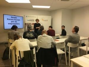 Xarxes socials per a emprenedors al CEI Balaguer