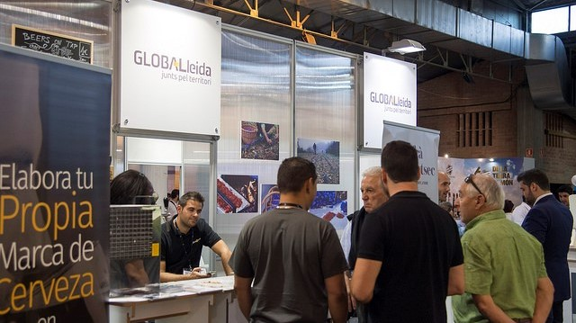 Empreses de la Xarxa de CEIs, presents a l'estand de GLOBALleida de la Fira de Sant Miquel
