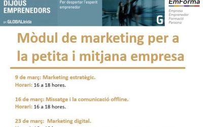 Mòdul de marketing per a la petita i mitjana empresa al Ceeilleida