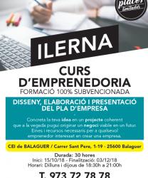 Curs d'emprenedoria  al CEI Balaguer