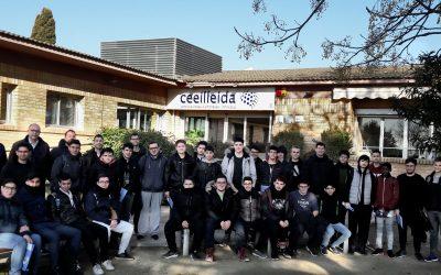 Una seixantena d'estudiants i professors de secundària i cicles formatius visiten les instal·lacions del CEEILleida en una setmana