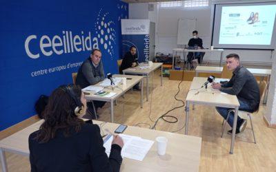 L'emprenedoria a debat, en el programa Empresaris de Ràdio Lleida, emès des del CEEILleida