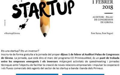 Tres empreses del CEEILleida participen en la jornada 'Empreses emergents i finançament' de Girona