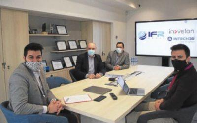 IFR Group signa un acord amb INTECH3D i Invelon per ajudar les empreses a través de la transformació digital