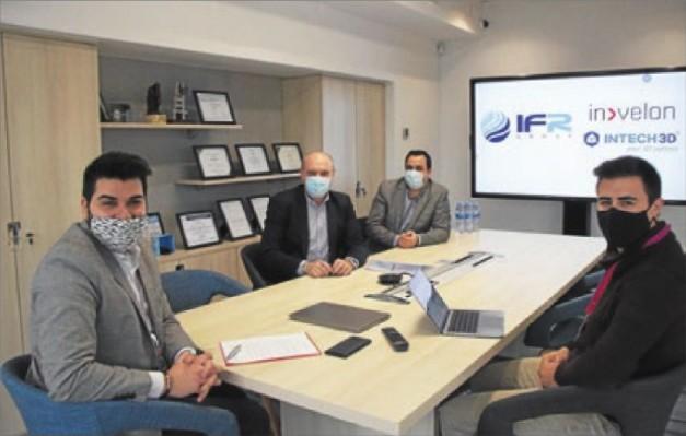 IFR Group signen un acord amb INTECH3D i Invelon per ajudar les empreses a través de la transformació digital
