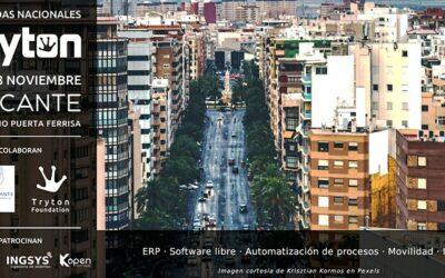 Kopen Software col·labora en l'organització d'unes jornades a Alacant sobre Tryton, transformació digital en software lliure