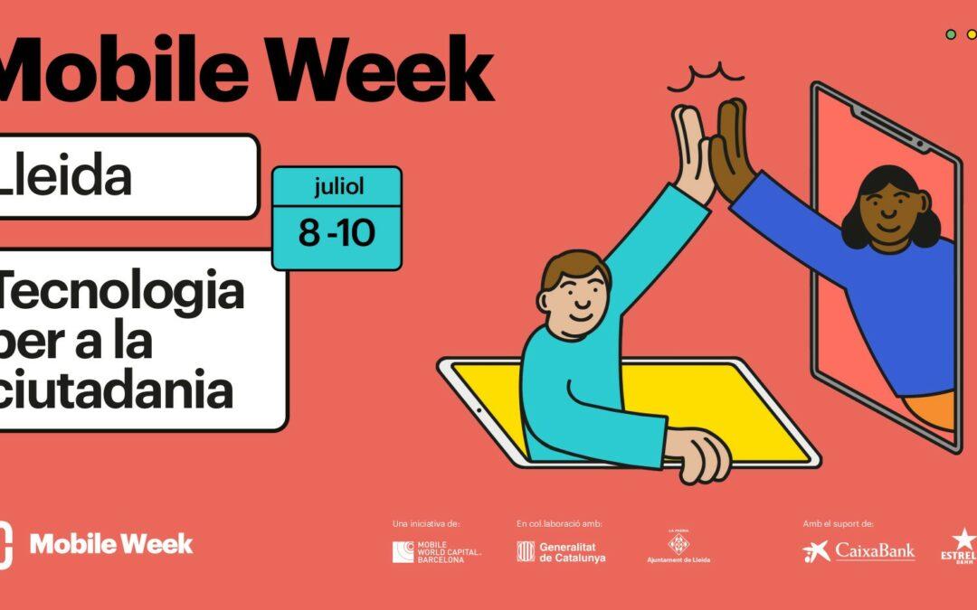 Lleida serà la seu de la Mobile Week Catalunya 2021, del 8 al 10 de juliol