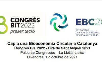 La Fira de Sant Miquel presentael Congrés BIT 2022: Bioeconomia, Innovació i Tecnologia