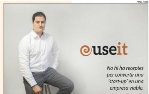 Àlex Surroca, de USE IT, entrevistat a la pàgina de Pimec Joves del diari Segre
