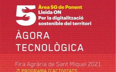Tres empreses nascudes al CEEILleida participen en les jornades Tecnologia 5G de la Fira de Sant Miquel