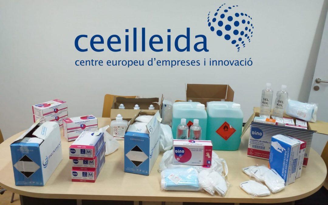 El CEEILleida organitza una central de compres per adquirir material bàsic de seguretat per a les empreses del viver