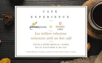 Cafè Experience PIMEC Joves Lleida amb Cafès Batalla