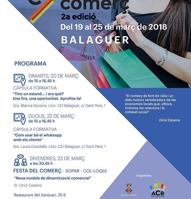 Setmana del comerç a Balaguer