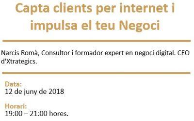 """Nova càpsula formativa al CEI Cervera: """"Capta clients per internet i impulsa el teu negoci"""""""