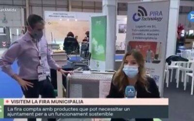 Èxit per a les nou empreses nascudes al CEEILleida que han exposat en el saló Municipàlia